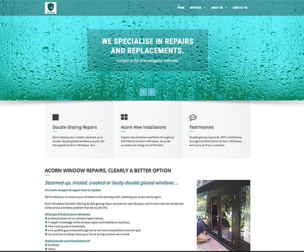 Website design and development for local business
